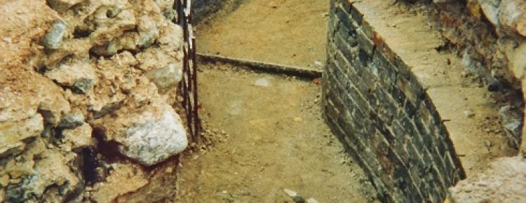 Західна ділянка північної гілки опалювальних каналів ХІХ ст. 1998 р.
