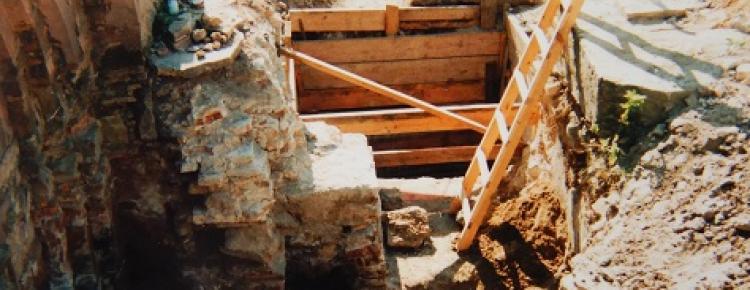 Дослідження фундаментів Успенського собору 1998 р.